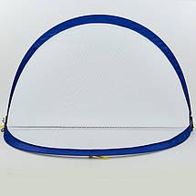 Складные футбольные ворота для тренировок (1шт) PORAY PS-SN001M (пластик, сетка, PVC чехол, р-р 5ft (152х91х91см), цвета в ассортименте), фото 3