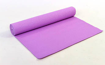 Коврик для фитнеса и йоги PVC 4мм SP-Planeta FI-4986 (размер 1,73мx0,61мx4мм, цвета в ассортименте), фото 3