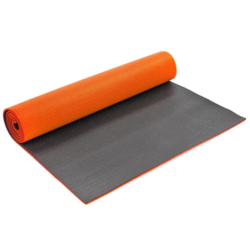 Коврик для фитнеса и йоги PVC 6мм двухслойный SP-Planeta FI-5558 (размер 1,73мx0,61мx6мм, цвета в ассортименте)