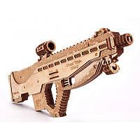 Штурмовая винтовка USG-2 Wood Trick - механический 3д пазл