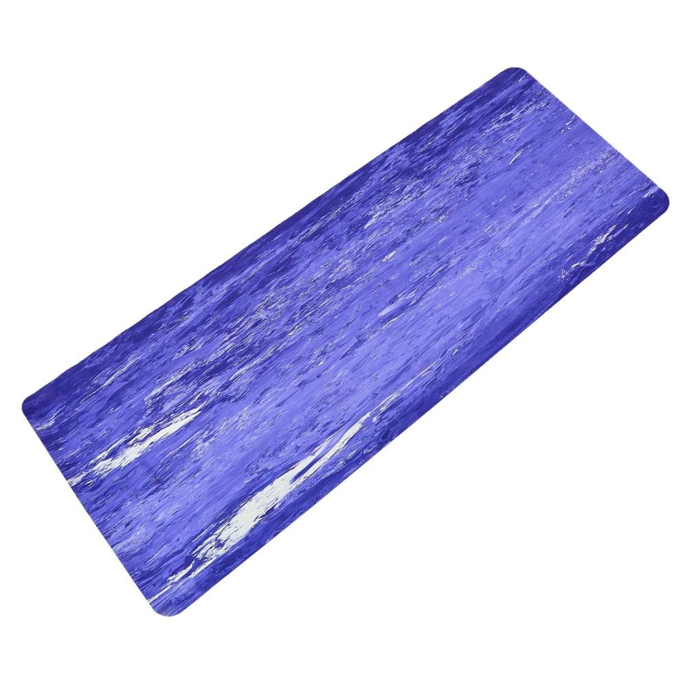 Коврик для фитнеса и йоги Резиновый 4мм FI-0567 (размер 1,83мx0,68мx4мм, цвета в ассортименте)