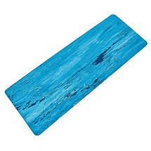 Коврик для фитнеса и йоги Резиновый 4мм FI-0567 (размер 1,83мx0,68мx4мм, цвета в ассортименте), фото 3