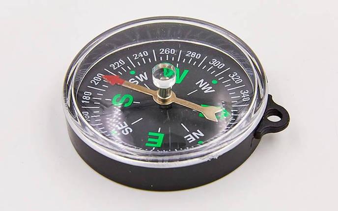 Компас магнитный 55CM (d-55мм, металл, пластик), фото 2