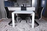 Стол BRISTOL S (Бристоль) 100/150х74 cm белый стекло Nicolas (бесплатная доставка), фото 9
