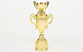 Кубок спортивный с ручками, крышкой и чашей ARES HB4127A (металл, пластик, h-53см,b-19см,d чаши-12см,золото), фото 3