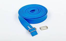 Жгут эластичный спортивный, лента жгут TA-3936-5 (латекс, l-5м, 3см x 4,5мм, цвета в ассортименте)