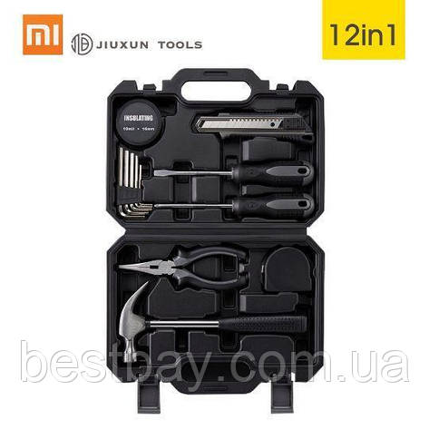 Набор инструментов Xiaomi Jiuxun Tools Toolbox 12 предметов Лучшая цена!, фото 2