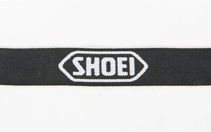 Шнурок для ключей, телефона SHOEI M-4559-21 (эластичная, растяг. резина l-50см, черно-белый), фото 2
