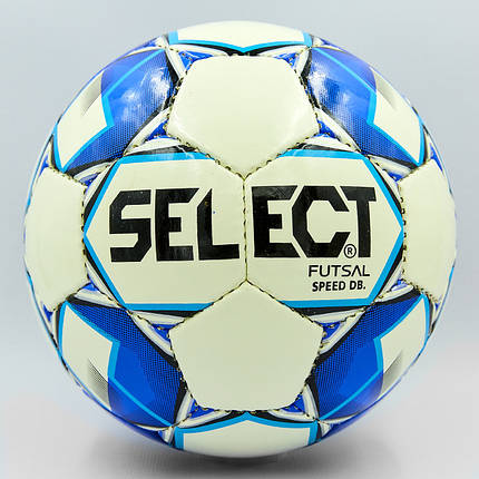 Мяч для футзала №4 ламин. ST SPEED ST-8151 белый-синий, белый-красный (5 сл., сшит вручную), фото 2