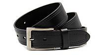 Мужской кожаный классический ремень для брюк
