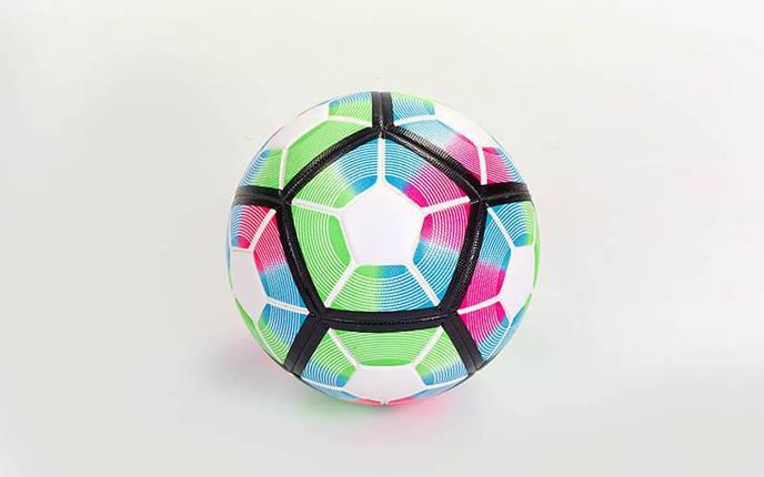 Мяч футбольный №5 PVC Клееный PREMIER LEAGUE 2017 FB-5355-1 (№5, мультиколор), фото 2