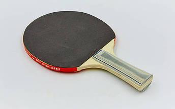 Набор для настольного тенниса 2 ракетки, 3 мяча Macical MT-805 (древесина, резина, пластик), фото 3
