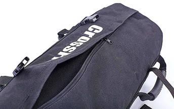 Сумка для кроссфита Sandbag FI-6232-3 60LB (PU, вес до 28 кг, 6 филлеров для песка, черный), фото 3