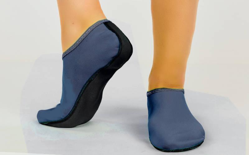 Обувь Skin Shoes для спорта и йоги PL-6870-B размер XS-XL-30-43 длина стопы 19-28,5см синий