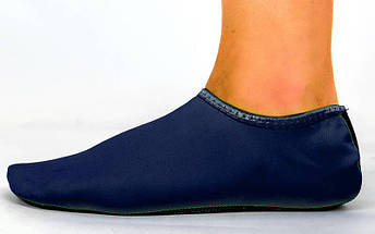 Обувь Skin Shoes для спорта и йоги PL-6870-B размер XS-XL-30-43 длина стопы 19-28,5см синий, фото 3