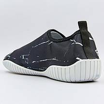 Обувь для пляжа и кораллов ZS002 размер 36-45 черный-белый, фото 3