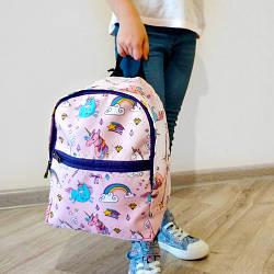 Рюкзак детский Light Единороги (RDL_20A001_FIO)