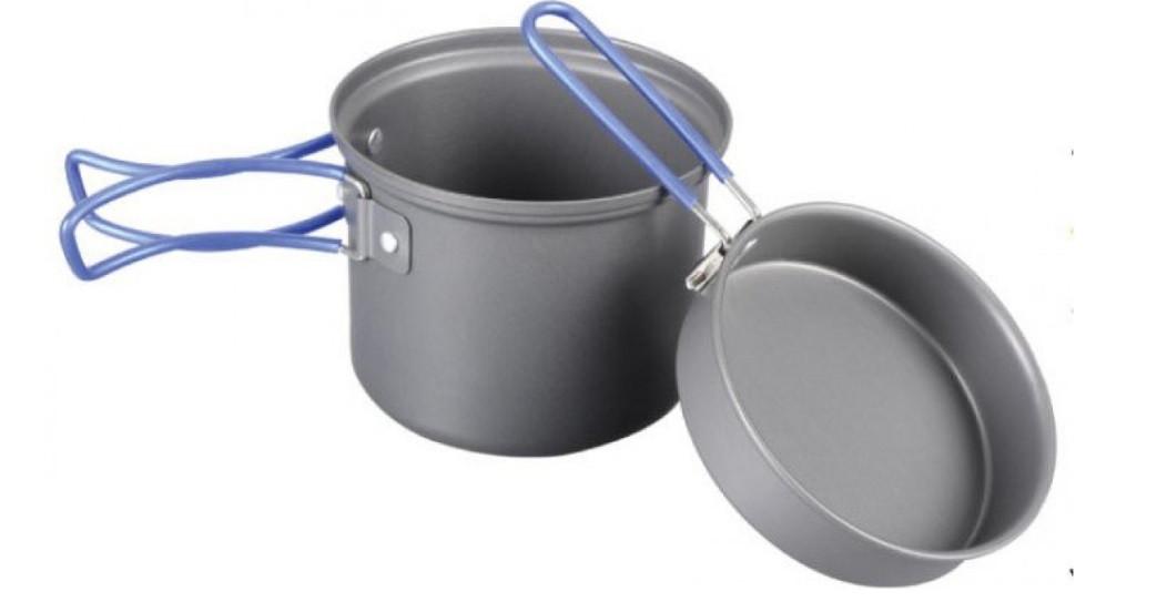 Кастрюля-кружка 0.9 л Tramp TRC-039 с крышкой-сковородкой