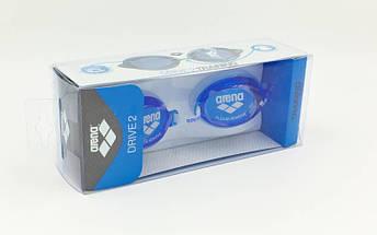 Очки для плавания ARENA DRIVE 2 AR-92409 (поликарбонат, термопластичная резина, силикон, цвета в ассортименте), фото 3