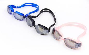 Очки для плавания LEGEND RACING GT18M (поликарбонат, силикон, зеркальные, цвета в ассортим), фото 2