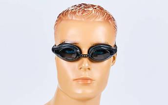 Очки для плавания MadWave COMPETITION AUTO M043001 (поликарбонат, силикон, цвета в ассортименте), фото 3