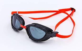 Очки для плавания MadWave TRIATHLON M042704 (TPR, PC, силикон, цвета в ассортименте), фото 3
