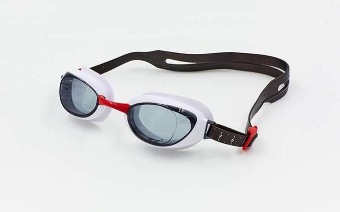 Очки для плавания SPEEDO AQUAPURE 8090028912 (поликарбонат, термопластичная резина, силикон, красный-серый), фото 2