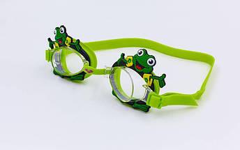 Очки для плавания детские ARENA BUBBLE WORLD AR-92339 (поликарбонат, термопластичная резина, силикон, цвета в ассртименте), фото 2