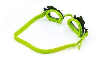 Очки для плавания детские ARENA BUBBLE WORLD AR-92339 (поликарбонат, термопластичная резина, силикон, цвета в ассртименте), фото 3