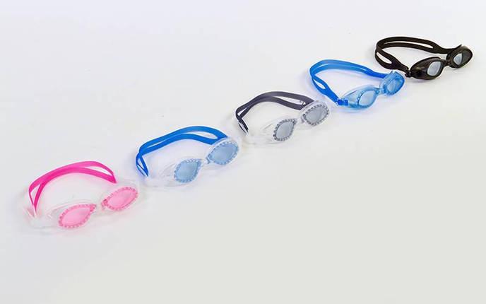 Очки для плавания детские SEALS 3110 (пластик, силикон, цвета в ассортименте), фото 2
