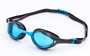 Очки для плавания MadWave ALIEN M042727 (поликарбонат, силикон, PU, TPE, цвета в ассортименте), фото 2