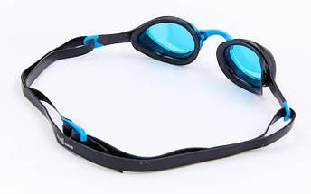 Очки для плавания MadWave ALIEN M042727 (поликарбонат, силикон, PU, TPE, цвета в ассортименте), фото 3