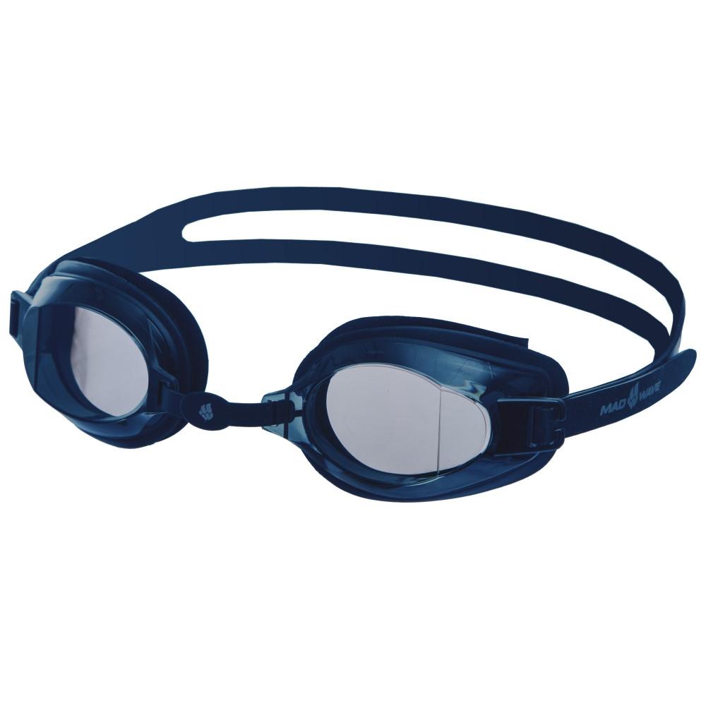 Очки для плавания MadWave STALKER M041904 (поликарбонат, силикон, цвета в ассортименте)