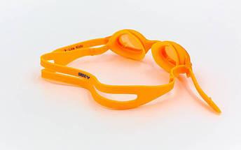 Очки для плавания детские ARENA X-LITE KIDS AR-92377 (поликарбонат, термопластичная резина, силикон, цвета в ассортименте), фото 2