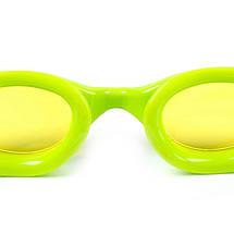 Очки для плавания детские SPEEDO FUTURA PLUS JUNIOR 809010B818 (поликарбонат, термопластичная резина, силикон, голубой-салатовый), фото 3