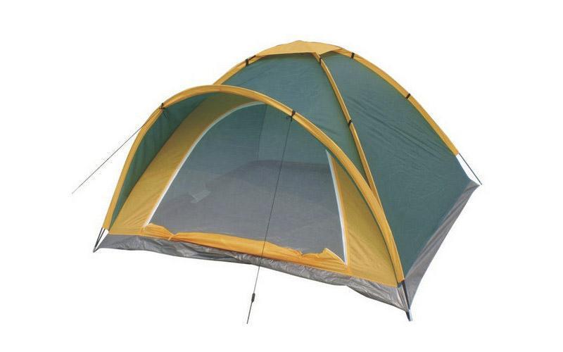 Палатка 5-ти местная GEMIN SY-102405 (р-р 2,4х2,4х1,4м, PL 170T, пол PE 110g-m2)
