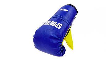 Перчатки боксерские детские SPORTKO PD-2 (кожвинил, р-р 4-8 oz, цвета в ассортименте), фото 3