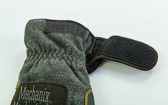 Перчатки теплые текстильные с закрытыми пальцами MECHANIX BC-5621 (р-р M-XL, черный), фото 2