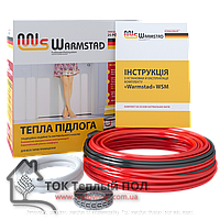 Тонкий кабель WARMSTAD 3.9 кв.м (580 Вт) Теплый Пол под плитку