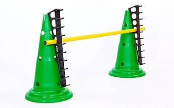 Подставка для палок тренировочных FB-5578 (пластик, р-р 45*4см), фото 3