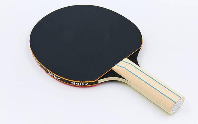 Ракетка для настольного тенниса 1 штука STIGA SGA-1210141737 HEARTY HOBBY (древесина, резина), фото 2