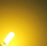 Лампи на габарит/підсвічування салону/номери діодні (Жовте світло) Цоколь T10 (W5W) - 2шт