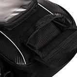 Сумка на бак мотоцикла Carbon tank bag, фото 8