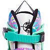 Роликовые коньки раздвижные Zelart Z-097VG SPRING размер 30-41 фиолетовый-зеленый, фото 4
