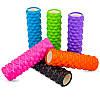 Роллер для занятий йогой и пилатесом Grid Bubble Roller l-45см FI-6672 (d-14см, l-45см, цвета в ассортименте), фото 3