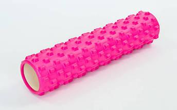 Роллер для занятий йогой и пилатесом Grid Rumble Roller l-61см FI-6280 (d-14,5см, l-61см, цвета в ассортименте), фото 3