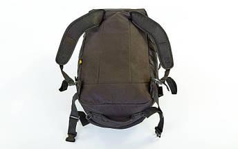 Рюкзак-сумка трансформер тактический рейдовый SILVER KNIGHT 40 литров TY-186-BK (нейлон, оксфорд 900D, размер 66х32х17см, черный), фото 3