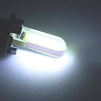 Лампы на габарит/подсветка салона/номера диодные (Белый свет) Цоколь T10 (W5W) - 2шт