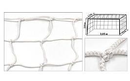 Сетка на ворота футзальные, гандбольные профессиональная (2шт) Элит1.1 UR SO-5289 (PP4,5мм, яч.12см)