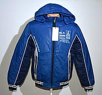 Демисезонная куртка на мальчика Р. 42-46. Маломерят.